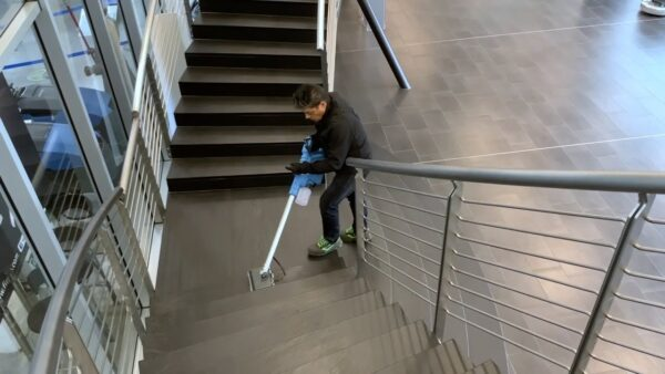 Fimap Orbitizer Stair Cleaning
