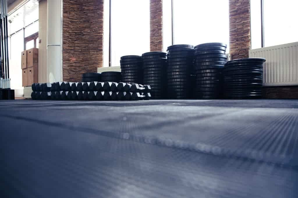 Gym Mats and weights