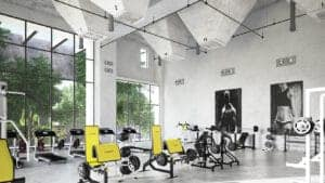 Fitness Gym Keep Clean